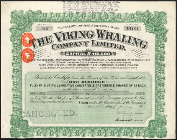 Viking Whaling green