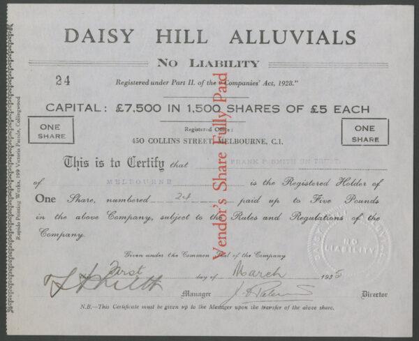 Daisy Hill Alluvials