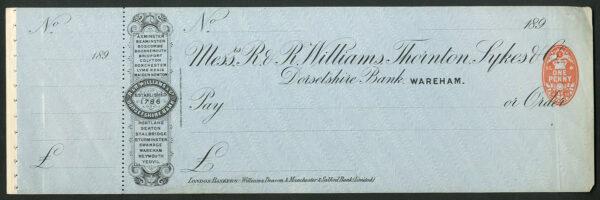 R R Williams Thornton Sykes