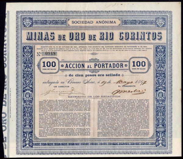 Minas de Oro de Rio Corintos