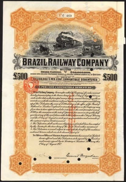 Brazil-Railway-Co-5-Convertible-Debenture1912-500-Waterlow-381894195143