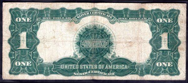Silver Certificate. One Dollar M48590043A, series 1899, Good Fine ...