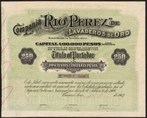 argentina old shares and bond certificates available onlineargentina, \