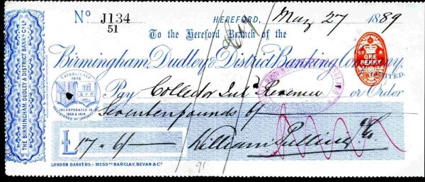Birmingham-Dudley-District-Banking-Company-Hereford-1889-381745571779